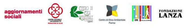 29 maggio 2014: Una rete di centri per l'etica ambientale