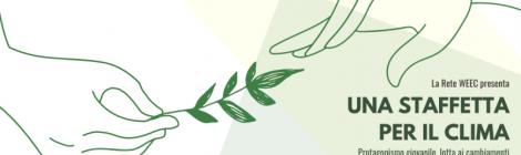 """Anche il CIREA partecipa alla staffetta per il clima con il webinar  """"Agire per il clima: l'Agenda 2030 a scuola"""", che si terrà il 26 maggio alle ore 17"""
